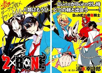 2 x Bone